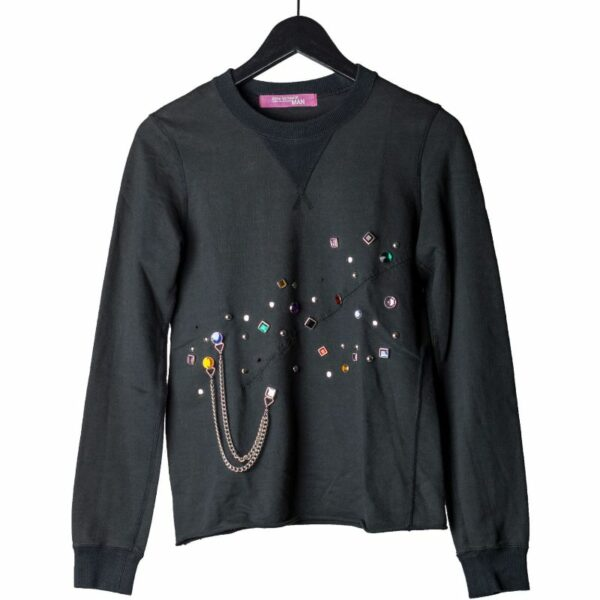 Junya Watanabe MAN x Comme Des Garcons AW02 Jewels & Cross Crewneck