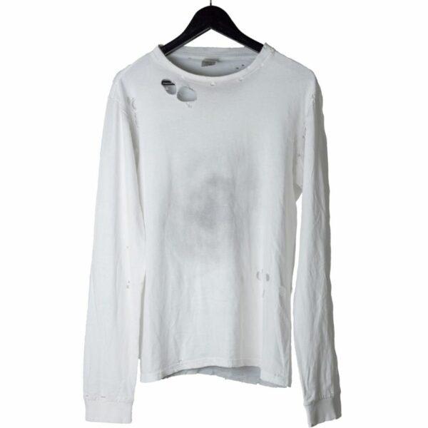 Number (N)ine SS02 Damaged White Long Sleeve