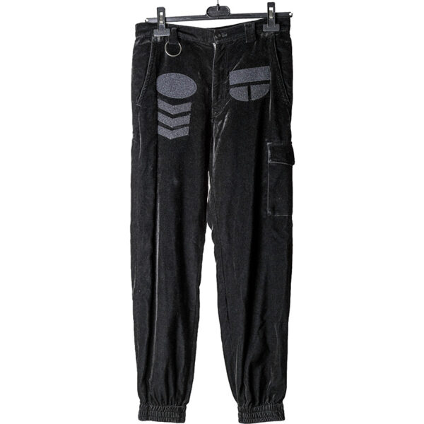 Undercover AW02 Velour Patch Pocket Cargo Pants