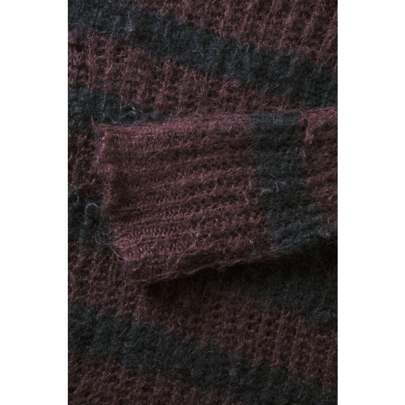 Junya Watanabe MAN AW12 Striped Mohair Sweater