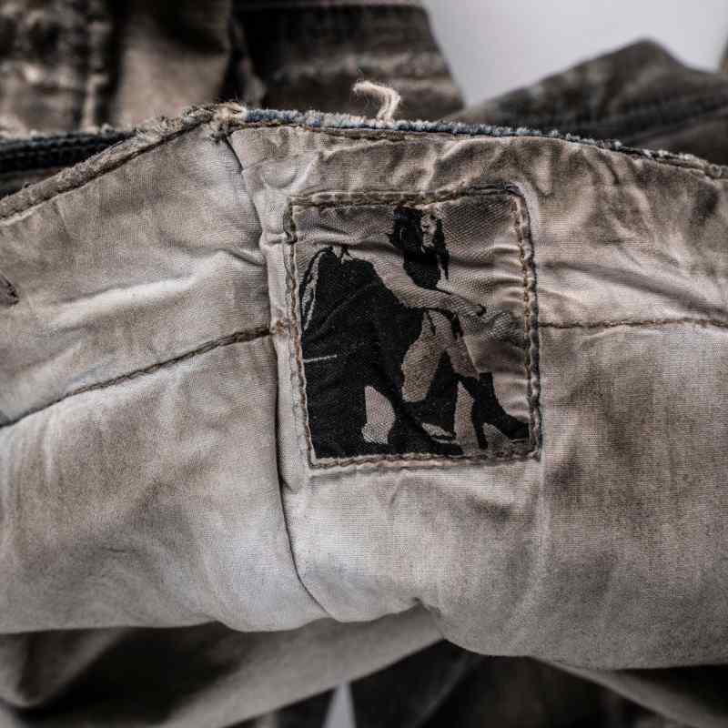 Rick Owens Original DRKSHDW aircut jeans