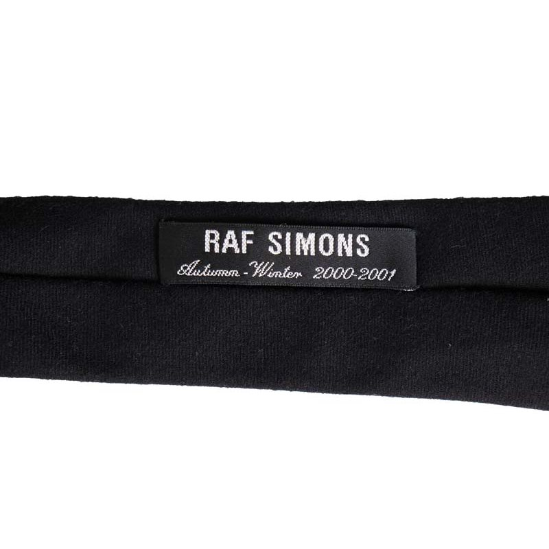 Raf Simons AW00 'Confusion' Wool Neck Tie