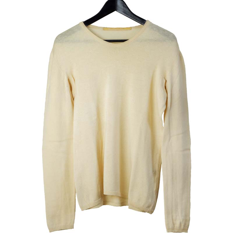 Carol Christian Poell SS97 cut-out armpit wool sweater