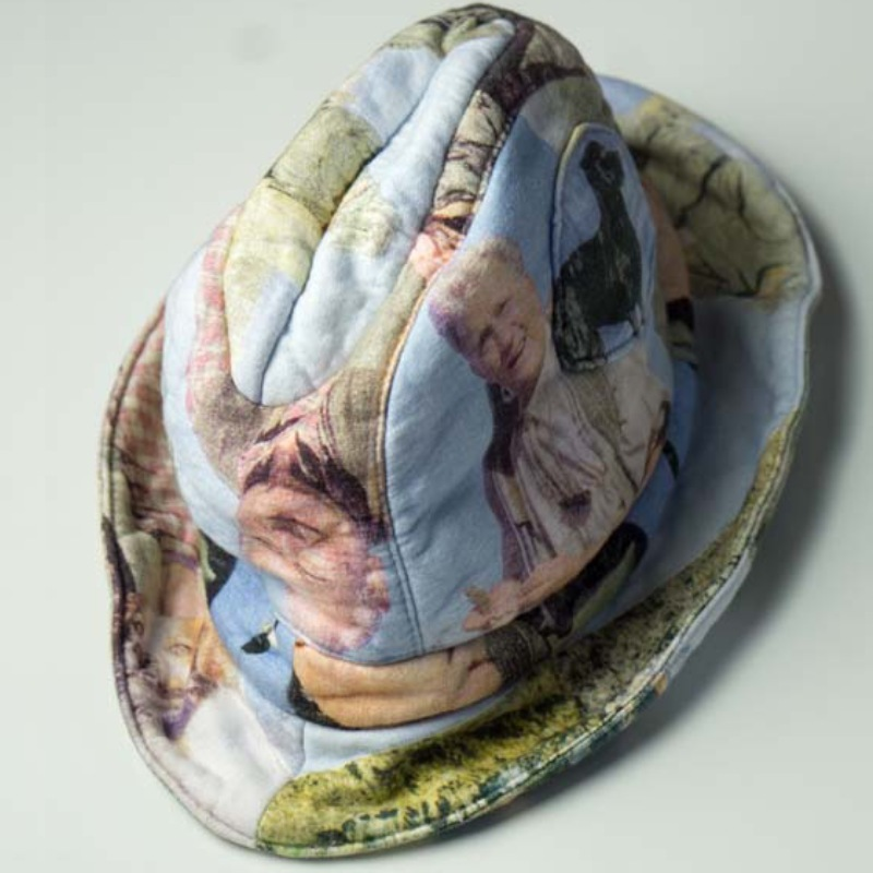 Christopher Coppens patchwork hat