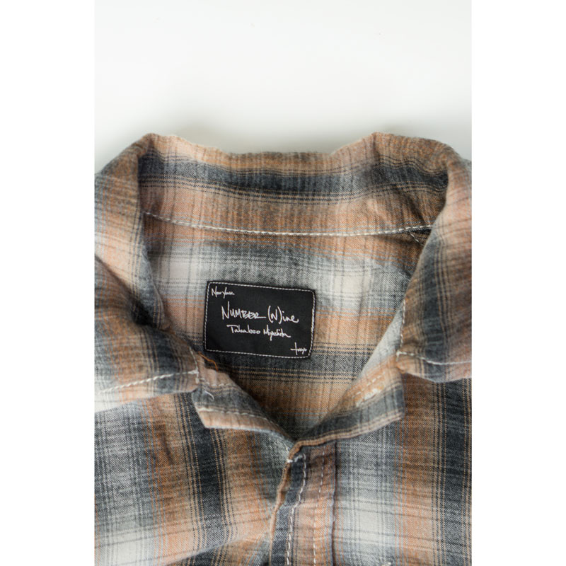 Number (N)ine AW08 'My Personal Portland' Checkered Flannel
