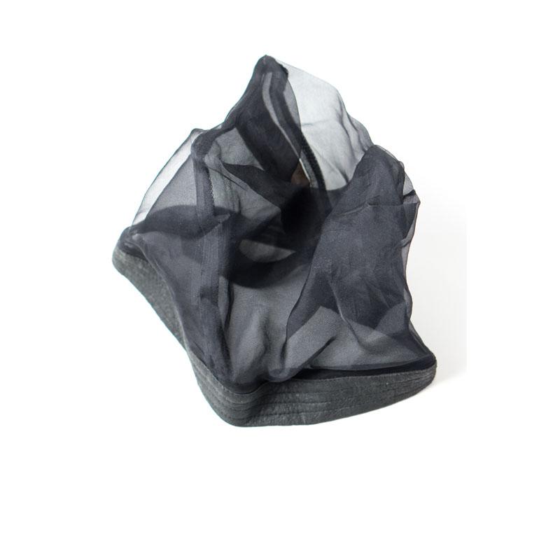 Rick Owens SS09 'Stutter' Mesh Hat