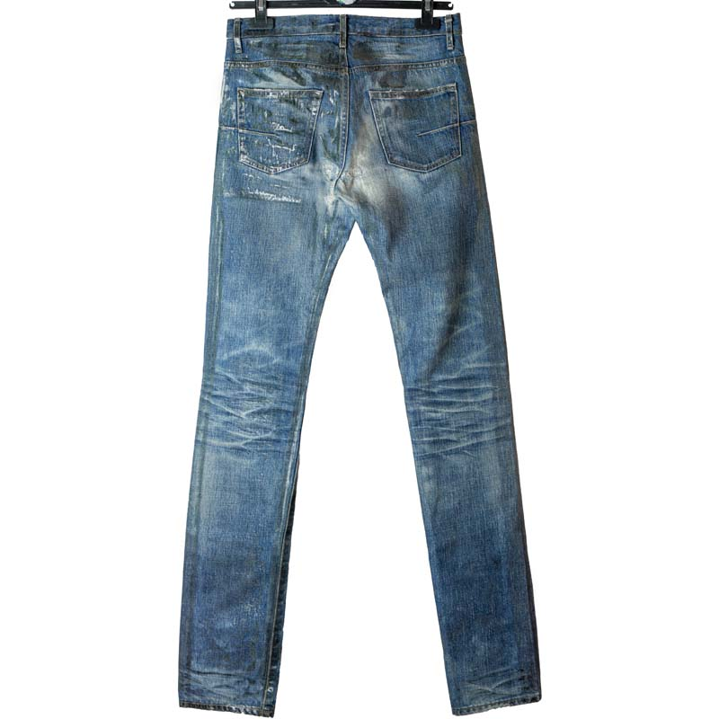 Dior Homme SS06 Waxed Clawmark Jeans