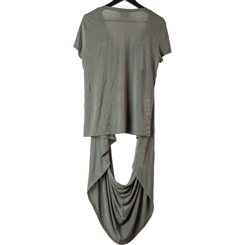 Julius SS06 'Structure' Draped Scarf Tee