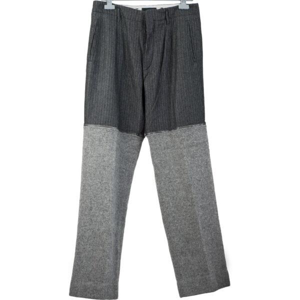 Dolce & Gabbana Zipper Wool Pants