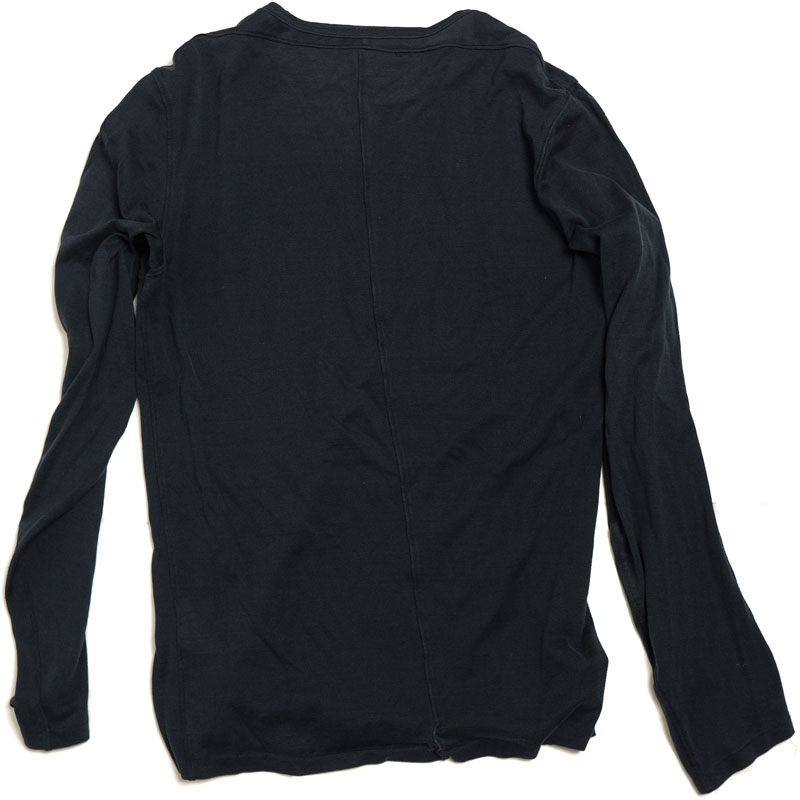 Carol Christian Poell SS06 Navy Long Sleeve