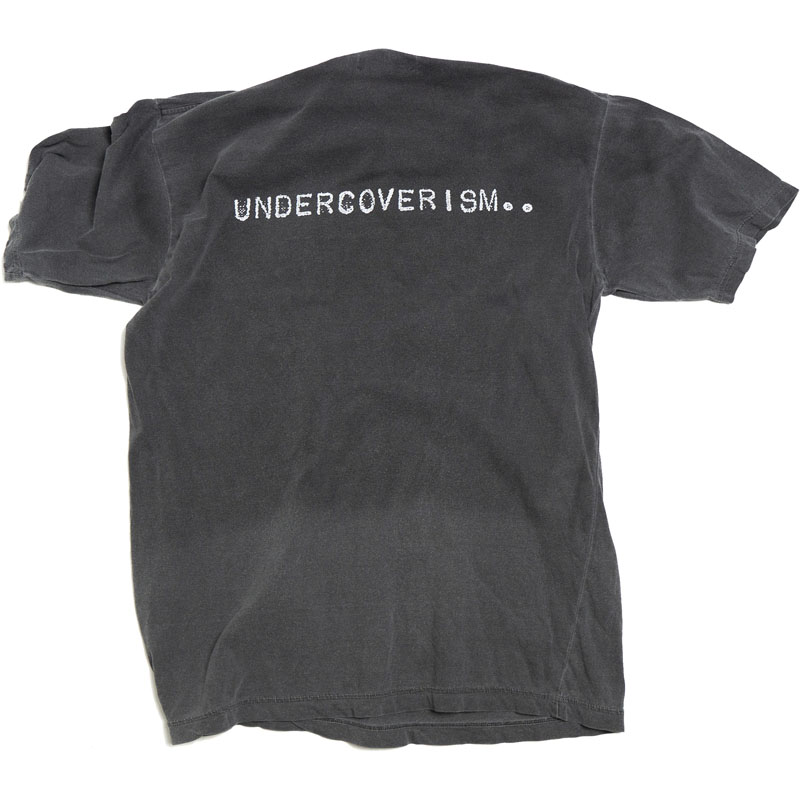 Undercover Undercoverlaboratories Gray Faded Tee