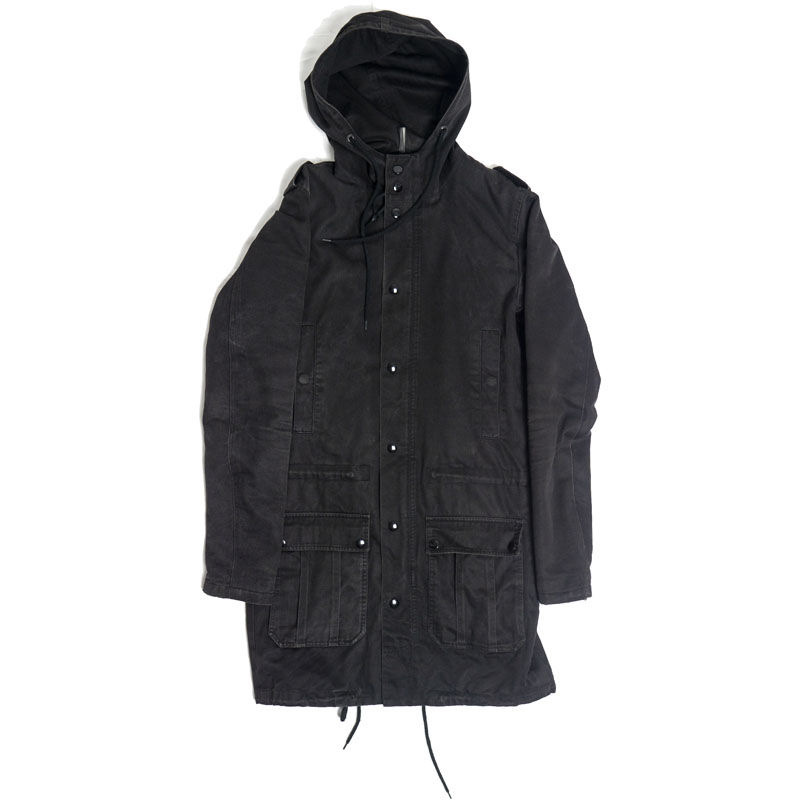 Dior Homme AW05 Hooded Military Parka