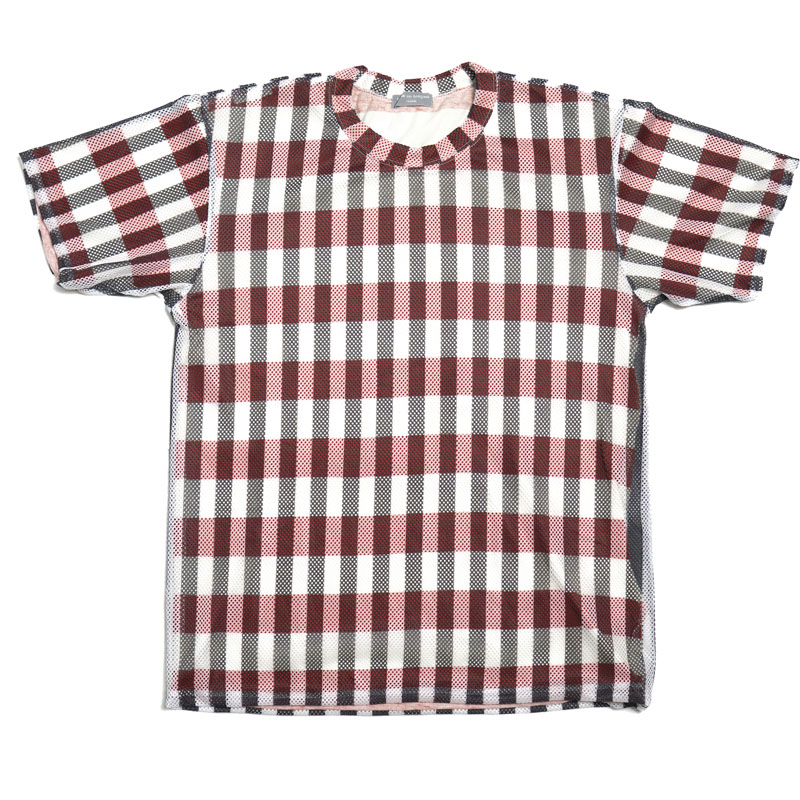 Comme des Garcons Homme AW02 Mesh Double-Layered Tee