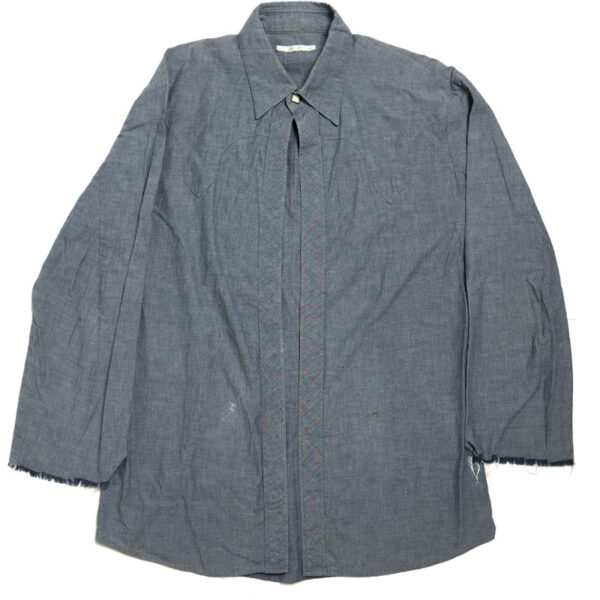 Number (N)ine SS01 'Time Migration' Western One-Button Shirt