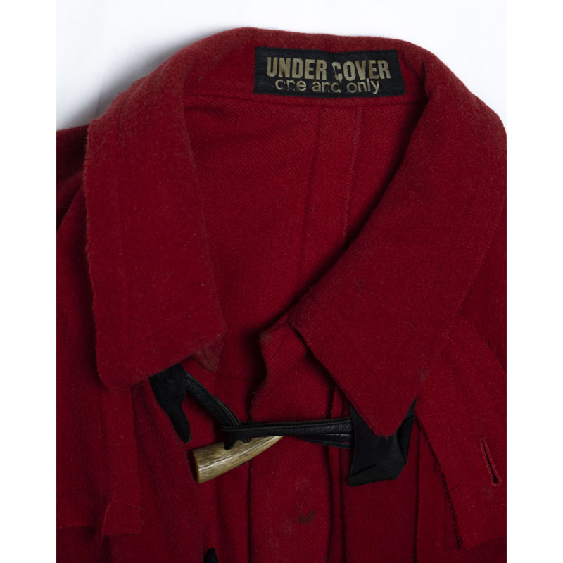 Undercover ONE & ONLY Distressed Red Duffel Coat
