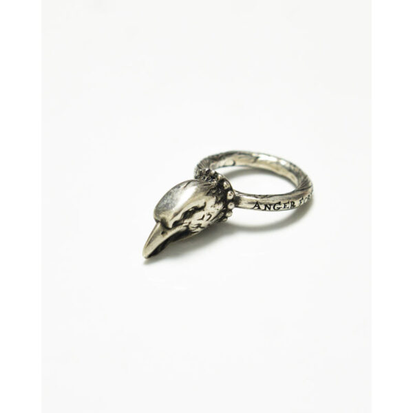 "Gucci Eagle ""Anger Forest"" Silver Ring"