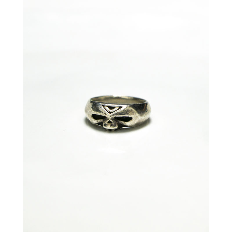 """Undercover AW13 """"Anatomi Couture"""" Skull Silver Ring"""