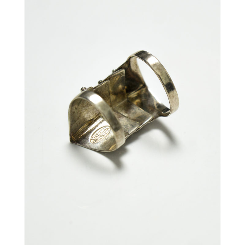 Vivienne Westwood Silver Ring Armour