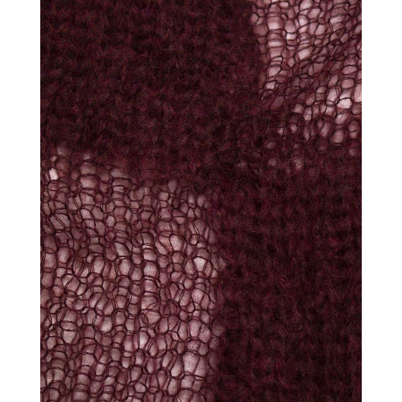 Ann Demeulemeester AW16 Checkered Mohair Sweater