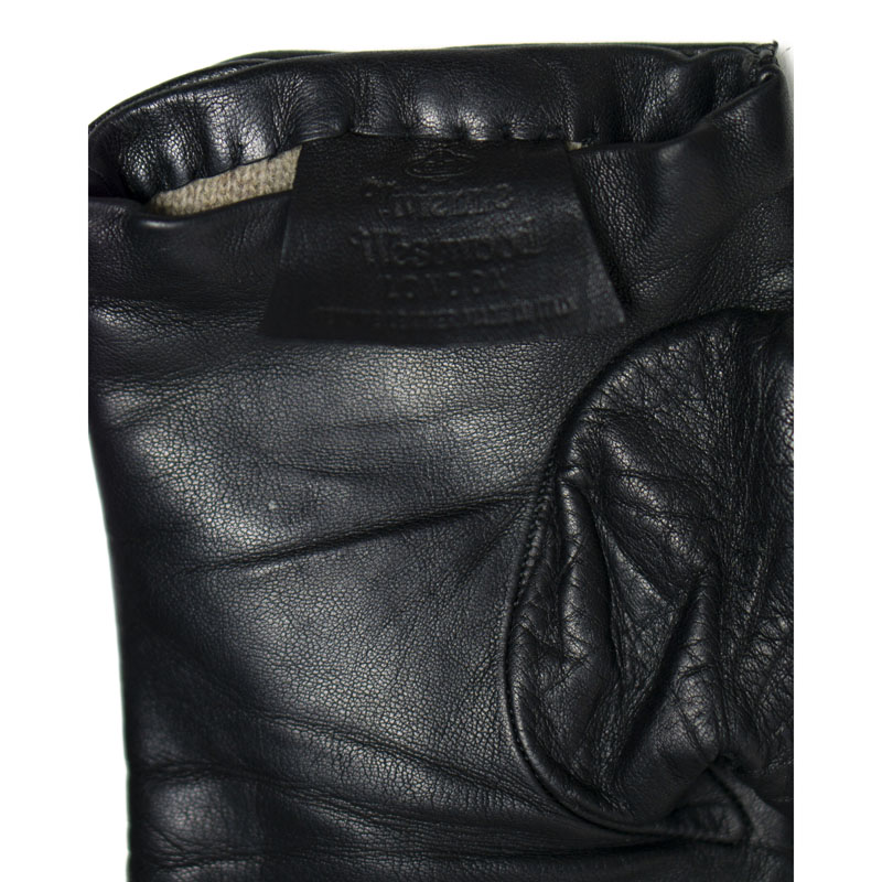 Vivienne Westwood Heart Leather Gloves