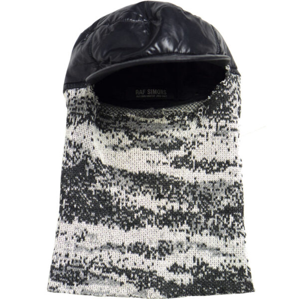 "Raf Simons AW02 ""Virginia Creeper"" Digicamo Balaclava"