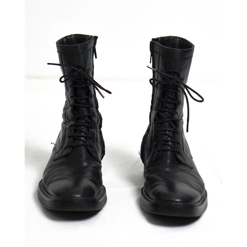 Yohji Yamamoto Military Combat Boots