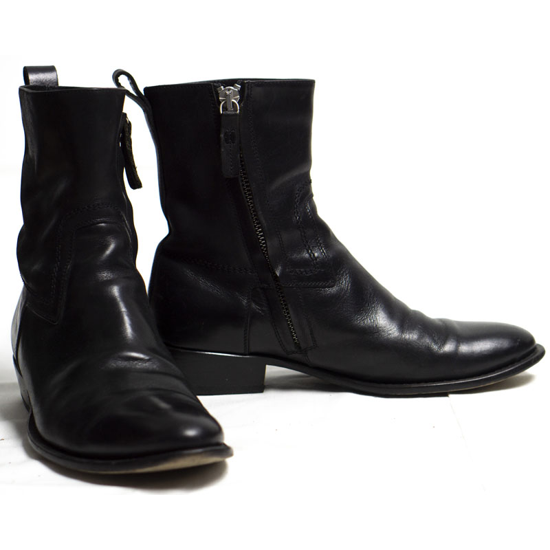 """Dior Homme AW07 """"Navigate"""" Western Boots"""