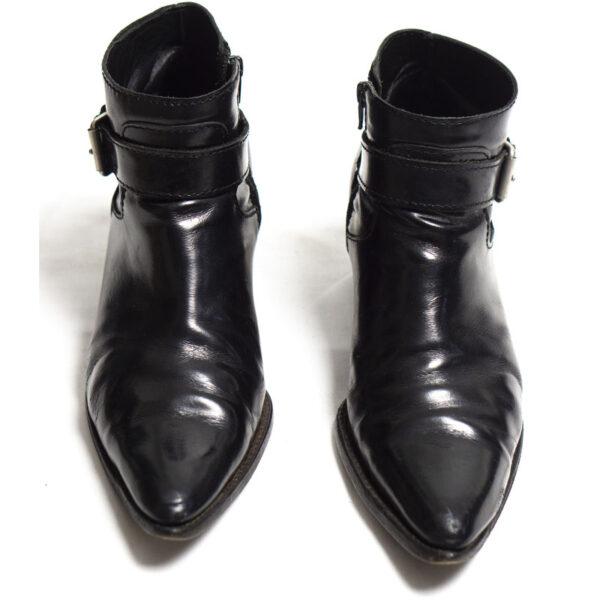 Junya Watanabe MAN Buckled Leather Cuban Boots
