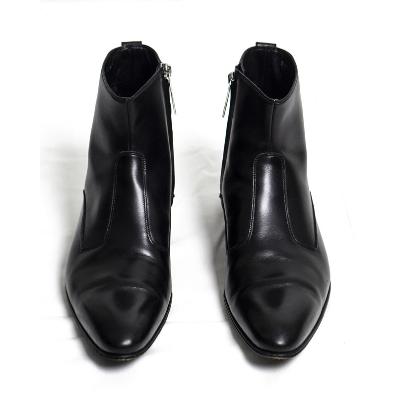 Dior Homme AW09 Heeled Leather Boots