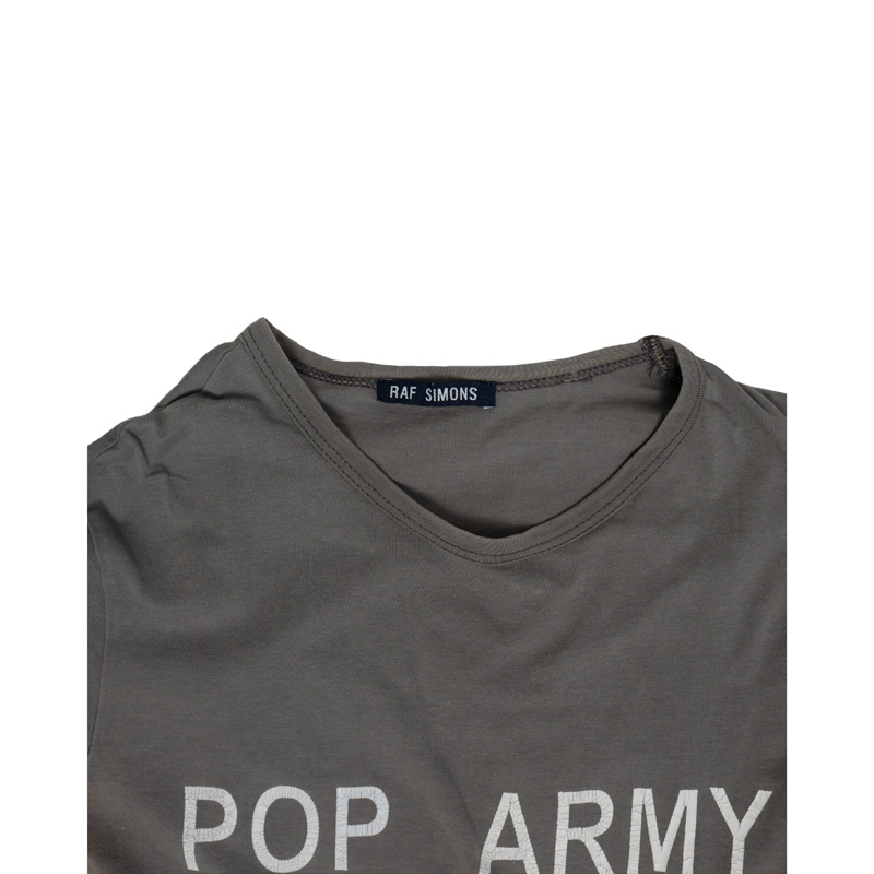 Raf Simons AW96? Pop Army ½ Sleeve Tee