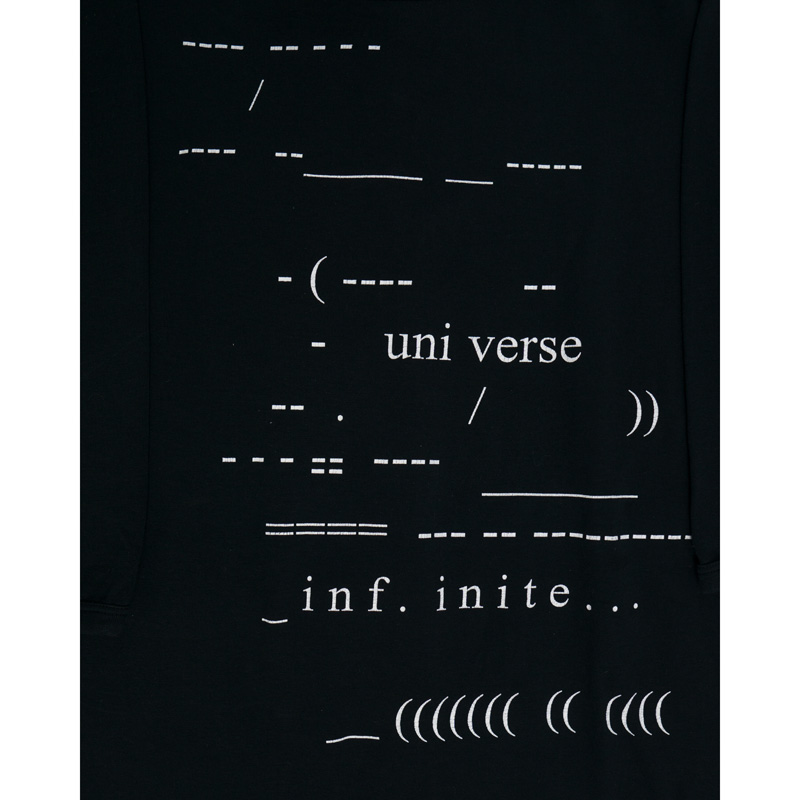 Raf Simons SS05 'Universe Infinite' T-shirt