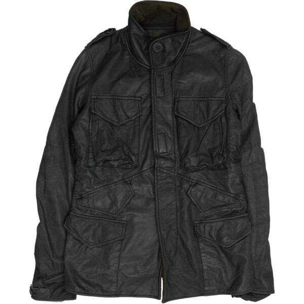 Rick Owens Sample M-65 Cargo Leather Jacket