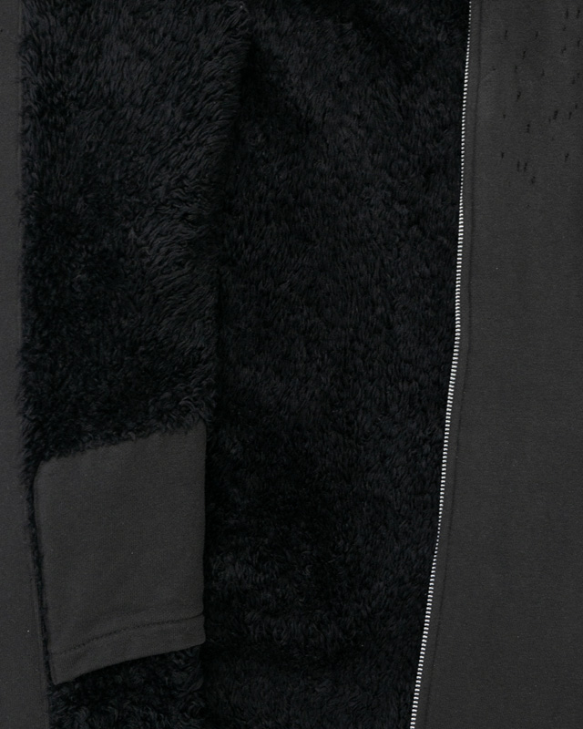 Undercover AW04 Distressed Fur-Lined Jacket