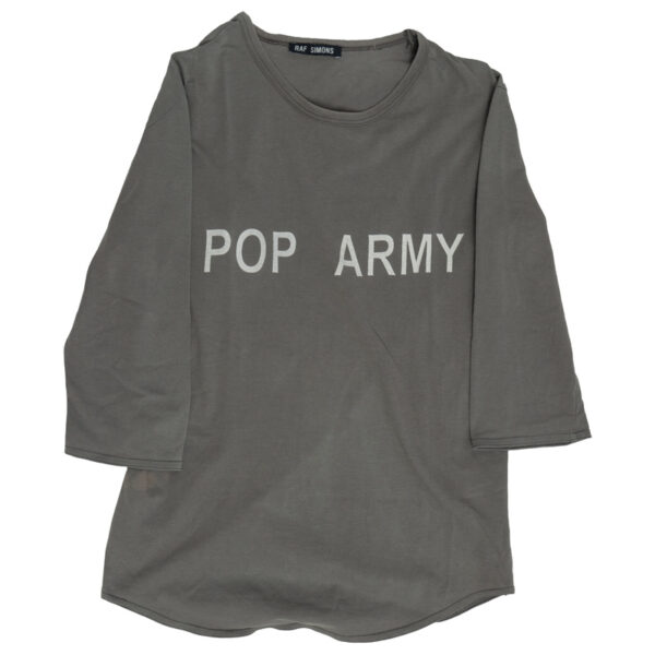 Raf Simons AW96? Pop Army ½ Sleeve Tee