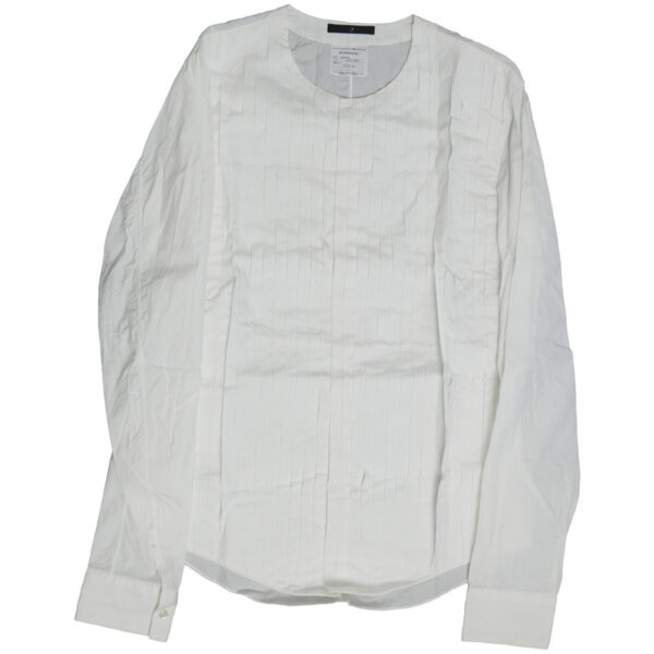 Julius SS06 'An Individual;' Pleated Button-Up Shirt