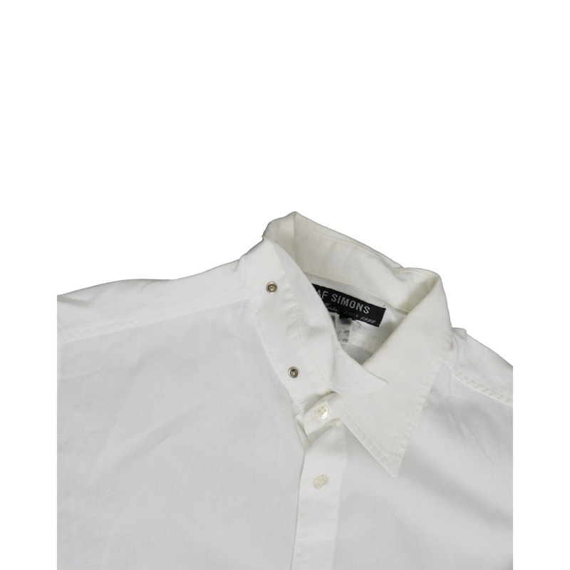 Raf Simons AW98 'Radioactivity' White Shirt