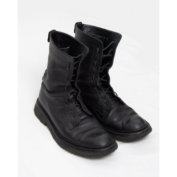 """Dior Homme AW07 """"Navigate"""" Combat Boots"""