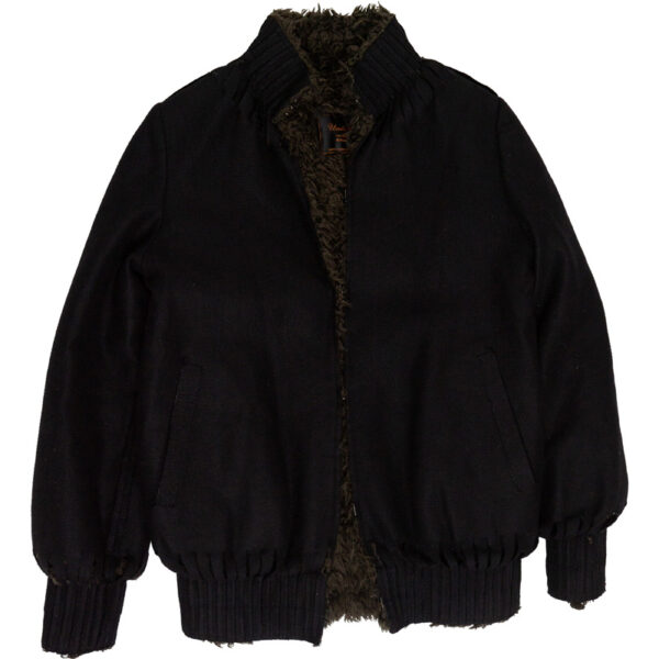 "Undercover AW05 ""Arts & Crafts"" Laser Cut Fur Jacket"