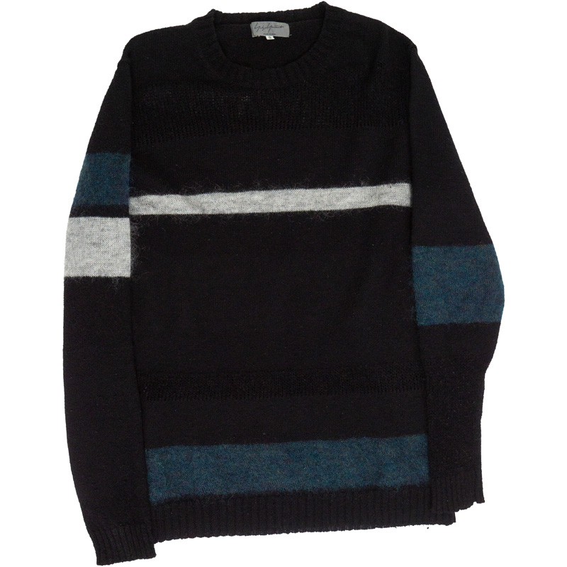Yohji Yamamoto Pour Homme AW08 Color Block Sweater