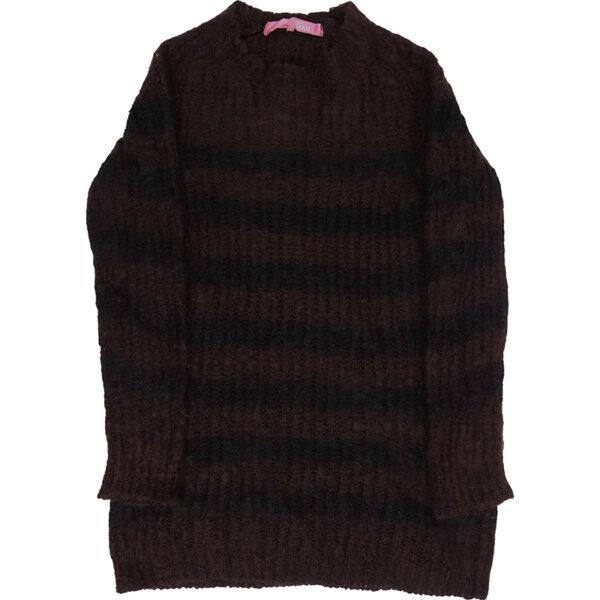 Junya Watanabe MAN AW12 Striped Mohair Sweater